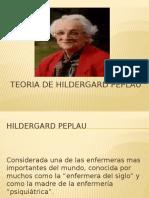 Teoria de Hildergard Peplau