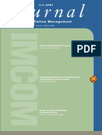 Journal of Installation Management