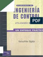 Ogata Katsuhiko - Problemas de Ingenieria de Control Utilizando Matlab