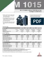 Datasheet Deutz 1015 Series