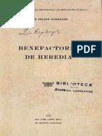 Benefactores de Heredia