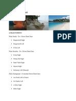 Spot Wisata Bahari