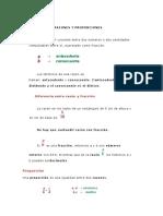 Razones y Proporciones MATERIAL No 2
