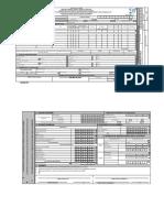 Formulario Postulacion Subsidio de Vivienda 2015