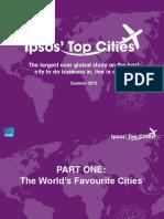 Ipsos Top Cities September 2013