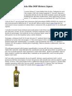 Consorzio Pada Tutela Olio DOP Riviera Ligure