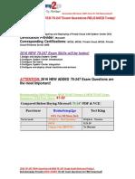 [2016 Feb-NEW]exam Latest 70-247 PDF 41-50