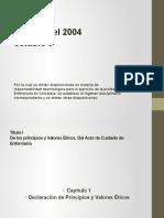 Ley 911 del 2004