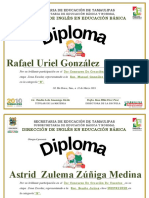 Diploma Cuento