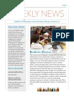 class newsletter edition 15