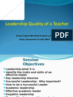 Leadership Qquality of Teachers01