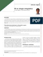 Planificacion 3d en Cirugia Ortognatica