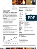 ETFS Fact Sheet-Gold Bullion Securities