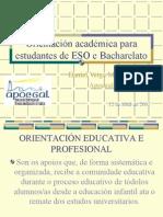 Orientación académica para estudantes de ESO e Bacharelato