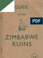 Guide to Zimbabwe Ruins