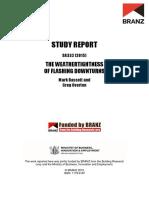 SR332 - The Weathertightness of Flashing Downturns