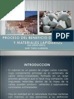Beneifcio Del Marmol y Materiaales Lapidarios