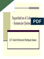 Seguridad en El Laboratorio - Reactivos UIGV 2011-I