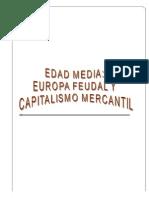 II SEC MÓDULO V EDAD MEDIA Y EL FEUDALISMO II