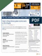 Www.adslzone.net Article 3898 Canal y Enrique Bunbury Graban El Primer Evento en 3d en Espana