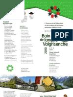 Bain de langue en patois - Valgrisenche - Juin 2010