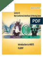 FLUENT-Intro 14.0 L08 MovingZones