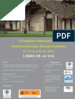 ACTAS I Congreso Internacional América-Europa 2015
