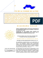 Asoleamiento en La Paz, Bolivia