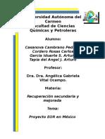 Programa EOR en México