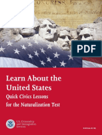 09  learn about the united states quick civics lessons for the naturalization test - m-638 red