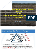 Shale Gas potential of Indian Basins and Policy imperatives to explore & Develop