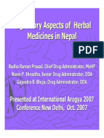 speech 6 - radha raman prasad - regulatory aspects of herbal.pdf