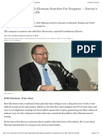 Klarman Searches for Bargains