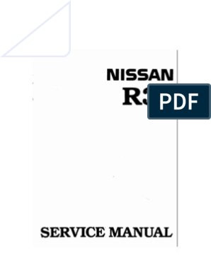 R34 All Workshop Manual. Search Able | Throttle | Turbocharger Nissan N Outboard Wiring Diagram on