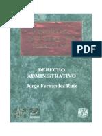 Panorama Del Derecho Administrativo Contenido