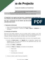 Ficha AP - Organização de uma apresentação Powerpoint