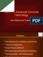 Non Destructive Evaluation