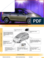 Citroen C4 PICASSO _ Grand C4 PICASSO Owners Handbook - Unknown