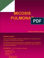 MICOSIS PULMONAR