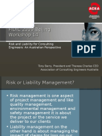 Consulting Service Indiminity Insurance Fidic05_ws14_barry