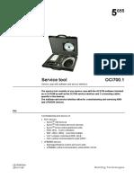 OCI700.1 Service Tool Synco