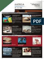 Proyección Ciclo Cinemateca. Fundación Caja Mediterráneo