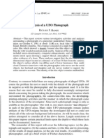 11 Journal of Scientific Exploration - Analysis of a UFO Photograph