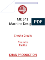Machine Design 1 ( MD 341)
