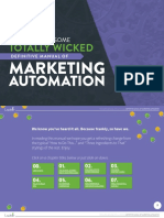 The Super Awesome Totally Wicked Definitive Manual of Marketing Automation