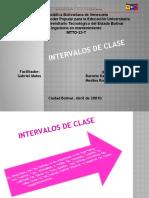 Presentación3. intervalo de clase