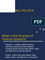 Chapter 10 Lecture 1 Global Politics