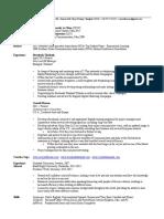 hassan ghiassi training resume 2015