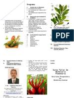 Objetivos Curso de Herbolaria Mexico DF