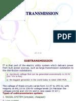 Subtransmission